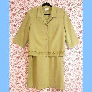 Vintage Tradition 2 Piece Suit Dress w/Jacket Plus
